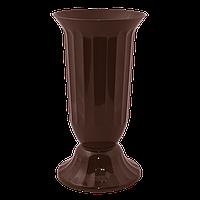 Алеана Ваза для цветов Флора 38 (темно-коричневый)