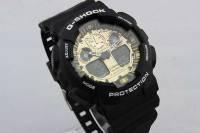 Часы Casio(Касио) G-Shock GA100 Черный с золотым