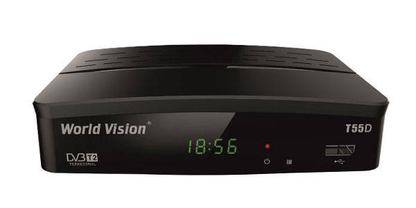 Т2 тюнер World Vision T55D, фото 2