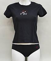 Женская пижама (футболка и трусы) из хлопка Natural Club