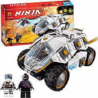 """Конструктор Bela Ninja 10523 (аналог Lego Ninjago 70588) """"Внедорожник титанового ниндзя"""" 362 дет"""