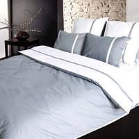Комплект постельного белья Теп Дуэт серый двуспальный