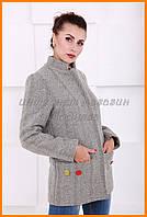 Женский осенний пиджак | Удлиненный пиджак для девушки