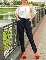 """Женская блузка """"Белая Фиджи"""" в романтическом стиле"""
