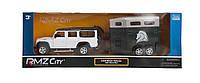 "544006-2TG Машинка ""Land Rover Defender"" с прицепом"