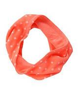 Шарф - снуд Crazy8 для девочки на 6-10 лет, детские шарфы