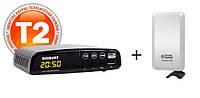 Т2 Комплект Romsat T2050+SmartTenne 1HD