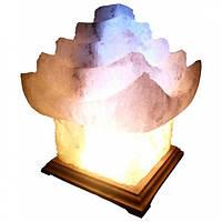 """Cертифицированный соляной светильник """"Китайский домик"""" 5-6 кг с цветной лампочк из солотвинской соли """"Соликом"""""""