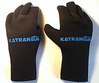 Перчатки подводной охоты KatranGun Hunter 3 мм; нейлон/нейлон