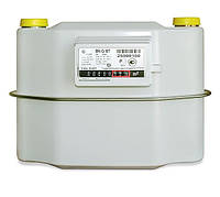 Счетчик газа BK G10T Elster: расход 0,1-16 м³/ч, 50 кПа, работа -40 +60°C, 4,3 кг, 32x33,4x21,8 см