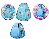 Палатка домик принцессы А999-205/10, размеры 90х90х100 см, шторка на входе, водоотталкивающая ткань