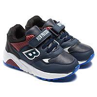 Спортивная обувь для мальчика, кроссовки синие, размер 26-31