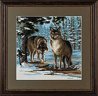 Набор для вышивания крестом «Волки» (271), Риолис