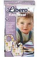 Защитный детский нагрудник Libero Easy Meal 10 шт
