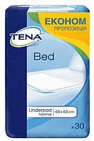 Одноразовые пеленки впитывающие Tena Bed Normal 60x60 30 шт