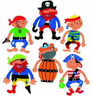 Книжная закладка Пират Деревянные развивающие игрушки