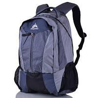 Мужской рюкзак с отделением для ноутбука ONEPOLAR (ВАНПОЛАР) W1316-grey