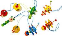 Подвеска для телефона Деревянные развивающие игрушки