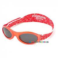 Очки Kidz Banz детские солнцезащитные красные в цветочек KBN027