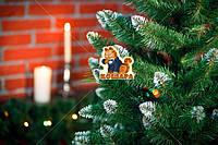 Елка 2,1м «Европейская Рождественская» белые кончики искусственная