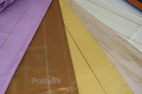 Ткань партьерная тафта  OLINDA горчица,роз,сирень
