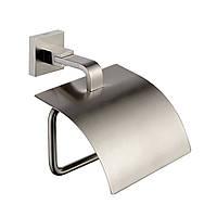 Держатель туалетной бумаги с крышкой Kraus Aura KEA-14426BN
