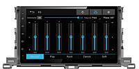 Мультимедийно навигационная станция для Toyota Highlander Sound Box SB-6510 2015+ (Android)