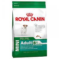 Корм для собак (Роял Канін) ROYAL CANIN Mini Adult 8+ 8 кг - для літніх собак дрібних порід
