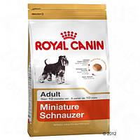 Корм для собак (Роял Канін) ROYAL CANIN Miniature Schnauzer 7,5 кг - для дорослих собак породи Цвергшнауцер