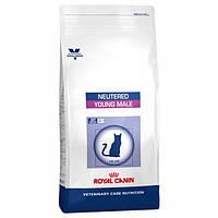 Лікувальний корм для котів (Роял Канін) ROYAL CANIN Young Male S/O 10 кг - для кастрованих котів до 7 років