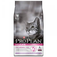Корм для котів (Про План) PRO PLAN Delicate Turkey 10 кг - для дорослих кішок з чутливим травленням