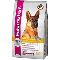 Корм для собак EUKANUBA Adult German Shepherd 12 кг для породы немецкая овчарка