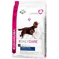 Корм для собак EUKANUBA Daily Care Overweight 12,5 кг при излишнем весе