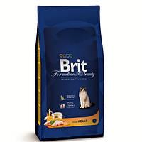 Корм для котів (Бріт) BRIT CAT ADULT Chicken 8 кг - для взрослых кошек с курицей