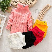 Детский свитер теплый
