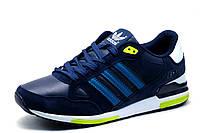 Кроссовки Adidas ZX750 мужские, комбинированные, темно-синие с голубым, р. 43, фото 1