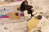 """Видеорегистратор DVR C-02 2.7"""" FullHD Gold! Регистратор С-02!"""