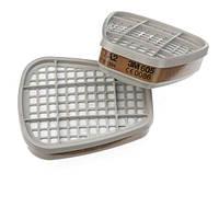 3M™ 6055 - фильтр для масок и полумасок, защита от газа и пара A2, 1 шт.