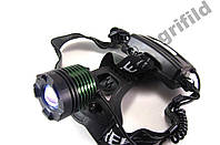 Налобный фонарик POLICE BL-2188B T6 50000W / Налобный аккумуляторный светодиодный фонари