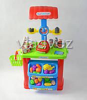 Детская витрина игрушечный магазин прилавок набор супермаркет для детей Market Stall