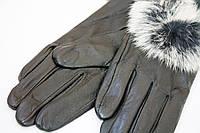 Черные женские перчатки, фото 1