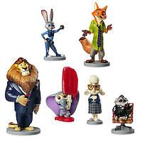Игровой набор с фигурками Зверополис Disney