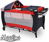Кроватка детская туристическая Stemplariusz Moolino DKP 623