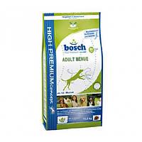 Корм для собак BOSCH Adult Menue 15 кг для взрослых собак з овощами