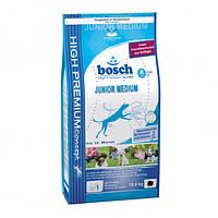 Корм для собак BOSCH Junior Medium 15 кг для щенков и юниоров средних пород