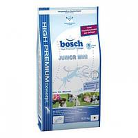 Корм для собак BOSCH Junior Mini 15 кг для щенков и юниоров  мелких пород