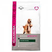 Корм для собак EUKANUBA Adult Cocker Spaniel 7,5 кг для породы кокер-спаниель