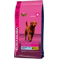 Корм для собак EUKANUBA Adult Light Large 15 кг для крупных пород при излишнем весе
