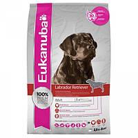 Корм для собак EUKANUBA Adult Labrador Retriever 12 кг для породы лабрадор-ретривер