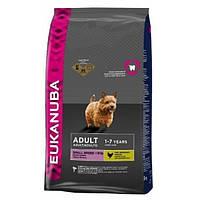 Корм для собак EUKANUBA Adult Small Breed 7,5 кг для мелких пород с курицей